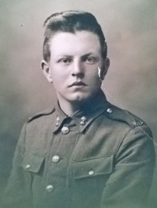 George Eric Williamson in his WWI NZEF dress uniform